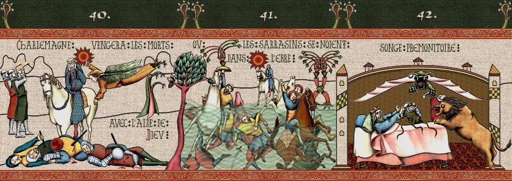panel 13 charlemagne vengera les morts